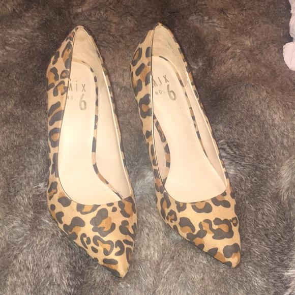 Mix No. 6 Shoes | Leopard Print Mix No6